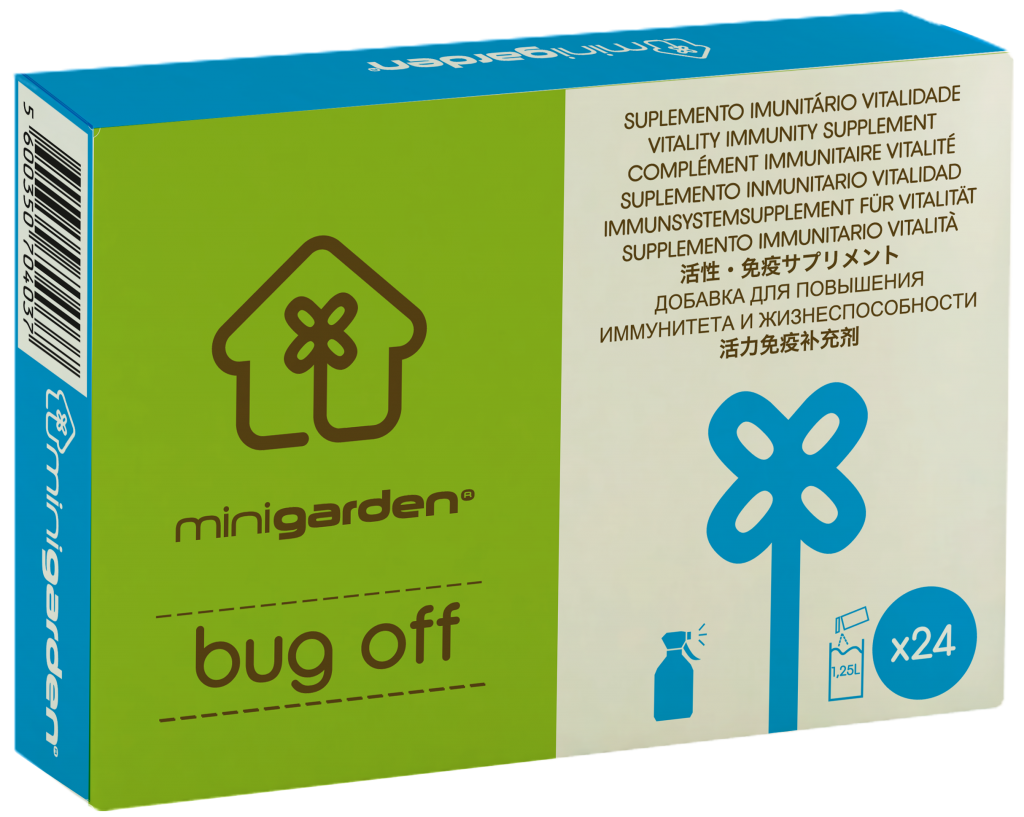 minigarden bug off blue fungus mold prevention