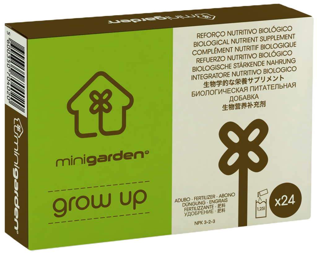 minigarden grow up brown all purpose plant nutrient
